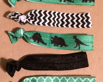 Dinosaur  Elastic Hair Ties