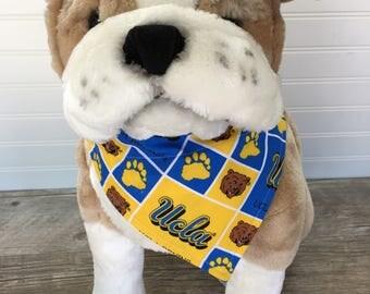 UCLA Dog Collar Bandana. College Football. Pet Accessories Dog Gift Pet Fashion Dog Fashion Pet Lover
