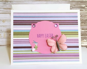 Bunny Easter Card, Easter Card, Happy Easter