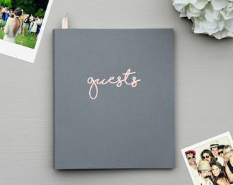Fast Free Shipping > Instax Guest Book, Birthday Guest Book, Flat-Lay Cardstock Softcover Cover, Polaroid Guestbook.