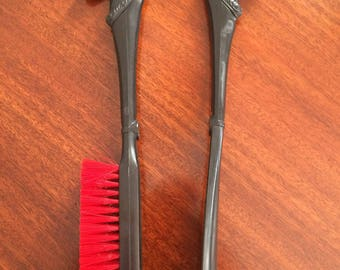 Vintage brush and shoehorn set made in japan