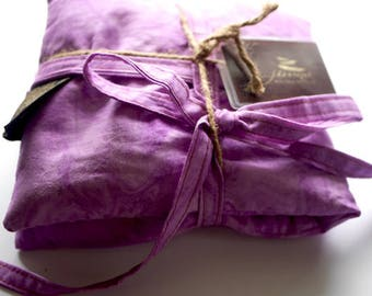Large Organic Lavender Herbal Aromatherapy Heat Pack