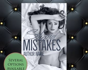 75% SALE Stupid Mistakes Pre-Made eBook Cover * Kindle * Ereader Cover