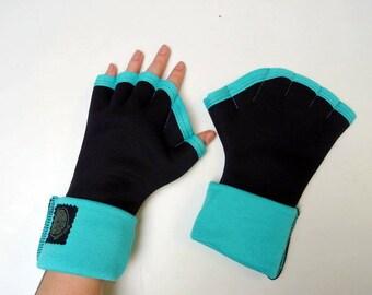 Original webbed gloves black and Mint green Sweatshirt