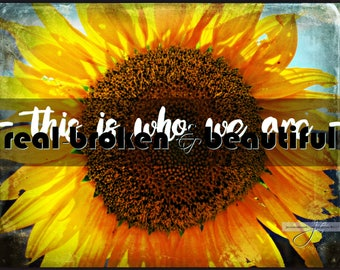 Print, Giclee, Send Sunshine, Good Quotes, Canvas, Inspirational Quotes, Prints, Uplifting, Quotes, Sayings, Sunflower Decor, Art, Beauty
