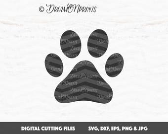 Paw SVG, Dog Svg, Pet Svg, Paw svg files, Dog Mom SVG, Cat Cut File, Dog Paw SVG, Dog Lover, Animal Svg, Cricut, Silhouette Cut File SVDP561