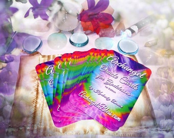 Tarot Card Deck - NEW Angel Oracle Cards - Archangel Oracle Cards for Goddesses