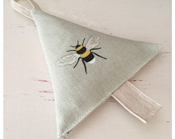 Lavender Bee Tree - Sophie Allport Fabric
