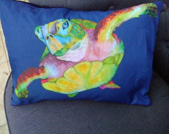 Turtle oblong cushion