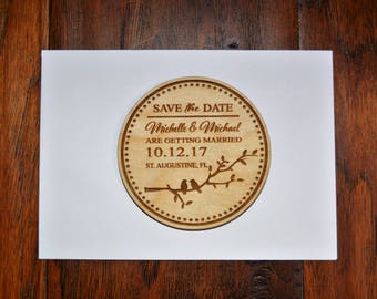 Wedding Save The Date Magnet, Wood Save The Date Magnet, Save The Date Magnet, Personalized Save The Date Magnet, Wedding Invitation