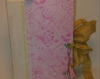 Altered Book Serendipity Junk Journal / Smash Book / Scrapbook / Memory Keeping /Repurposed Book /Guest Book / Photo Album / Diary