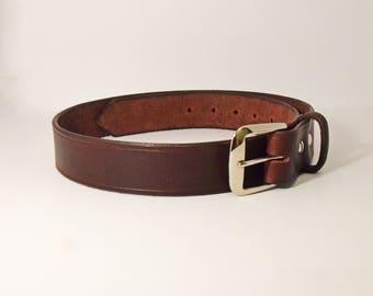 Mens Work Belt, Leather Belt, Durable Belt, Mens Leather Belt, Mens Belt, Work Belt, Belt, Casual Belt