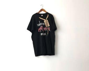 90s Hangman Roller Coaster Shirt - Adult XL