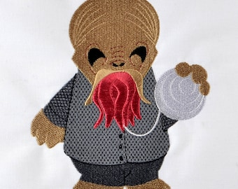 Cute Ood machine embroidery design 5x7