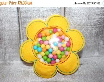 30% JULY SALE 3 designs - 4x4 and 5x7 hoop FAVOR Bag - Flower - Machine Embroidery Design File, digital download