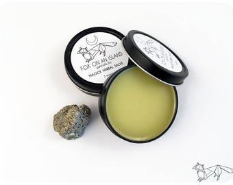 Magick Herbal Salve (Black Tin) - 2 Ounces