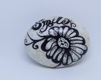 Paperweight Painted Rock Office Decor Desk Accessories Gift For Boss
