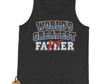 World's Greatest Farter (Color) Jersey Tank Top for Men