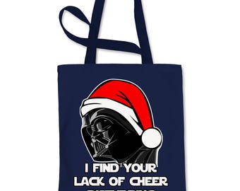 I Find Your Lack Of Cheer Disturbing Shopping Tote Bag