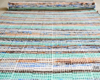 Handwoven rug, rug runner, weaving (#191)