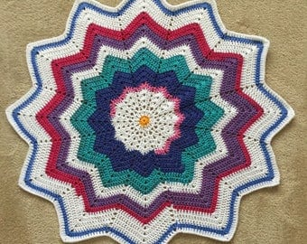 Rainbow Baby Star Blanket