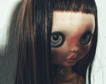 Ofelia ~ custom doll ~ ooak ~ fashion doll ~ blythe doll ~ big eyes ~ bambola ~ art doll