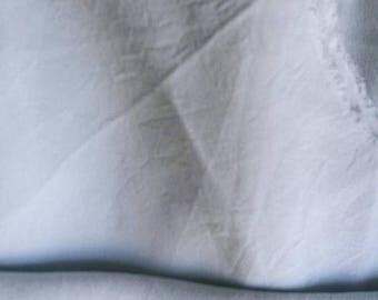 SUMMER17 Light blue crumpled silk