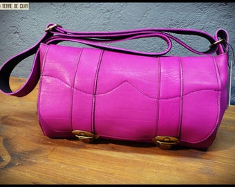 Small Leather Satchel Idily