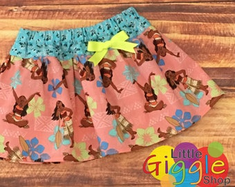 Moana Birthday Party, Moana Skirt, Moana Party Skirt, Moana Costume, Moana Dress, Moana Outfit, Moana Pua, Disney Princess, Moana, Handmade