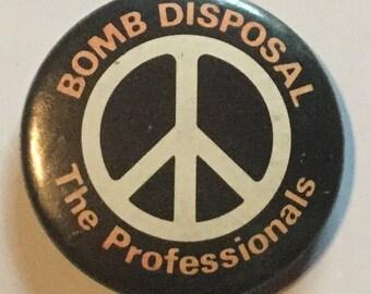 CND Anti Nuclear Badge