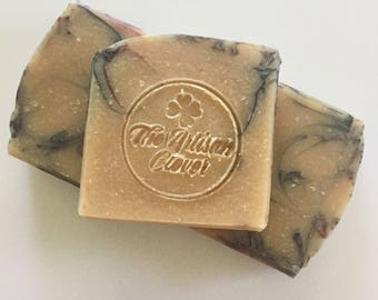 Hello Handsome, Goat's milk soap, tobacco and caramel scented