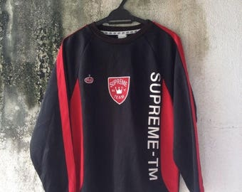 SALE 30% Supreme New York Team x Play Soccer L/Sleeve Jersey