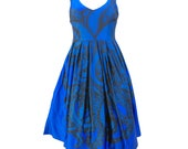 One Blue Vee Sleeveless Tentacles dress in blue on sale size 22 this dress is RESERVED FOR AMBER