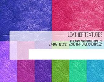 SALE! Rustic color Leather Texture Digital Paper Scrapbook Background Worn Grain Americana Design Clip Art printables