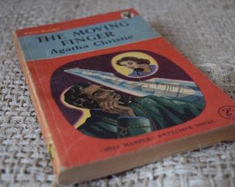 The Moving Finger. Agatha Christie. Pan Books. Vintage Paperback Book. Miss Marple.