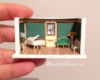 1:144 Scale Roombox