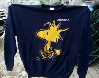 Vintage  Schulz Peanuts Woodstock 'Anniversary Rock Concert Band Tour T-shirt