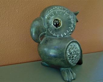 Mid Century Retro Whimsical ceramic pottery parrot Freeman & McFarlin pottery