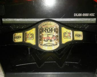 Tv wrestling champion vinyl belt