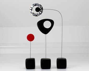 Calder Style, Abstract Mid Century, Sculpture Art, Modern Home, Modern Retro Sculpture, Retro Modern, Home Decor, Modernist, Mid Century
