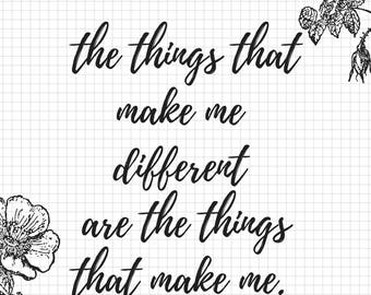 Winnie the Pooh quote - Instant Download