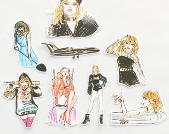 Taylor Swift | Look What You Made Me Do | Diecut Bundle