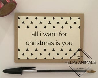 Christmas Card | Long Distance Boyfriend Gift | Long Distance Relationship