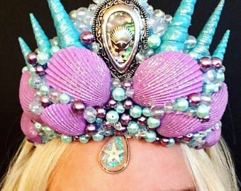 Customize Your Own Mermaid Crown
