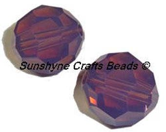 Swarovski Crystal Beads 12Pcs 5000 Series 6mm CYCLAMEN OPAL Faceted Round Bead
