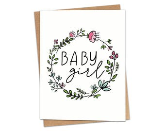 Baby Girl Greeting Card SKU C229