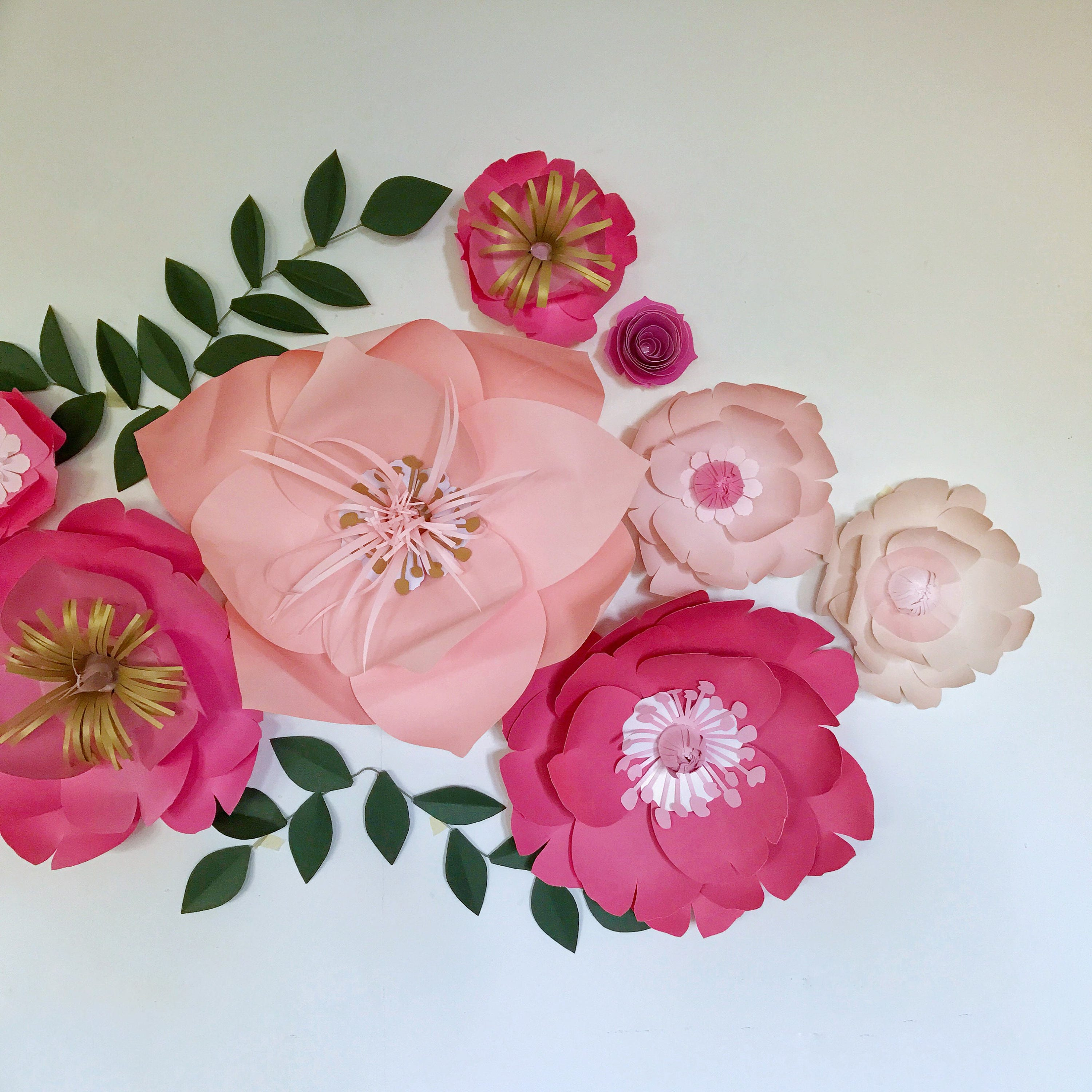 Paper flowers wall decor for a baby girl nursery room wedding gallery photo gallery photo gallery photo gallery photo gallery photo amipublicfo Images