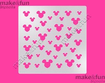 """5.5""""x5.5"""" Pattern Cake Stencil, Cookie Stencil, Designer, Pochoir, Airbrush stencil, Torten Schablone"""