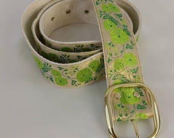 Green Flower Belt