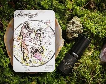 "Skin Scent Natural Oil Perfume ""Shirøbyak"""